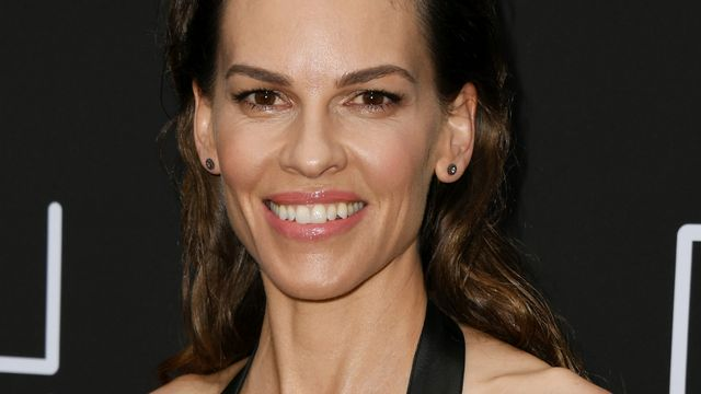 L'actrice Hilary Swank le 6 juin 2019. [Jon Kopaloff - Getty Images/AFP]