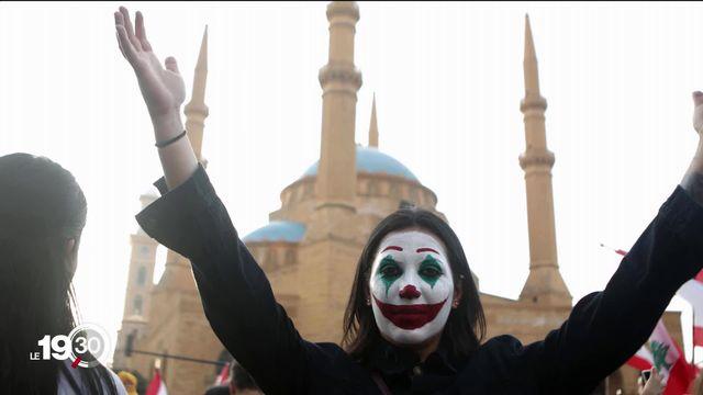 Le Joker, héros d'un film qui cartonne au cinéma, devient symbole de contestation et de révolte dans plusieurs pays. [RTS]