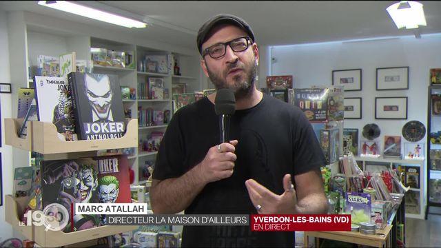 """Marc Attallah: """"Le Joker est le symbole d'une victime d'un système oppressant."""" [RTS]"""