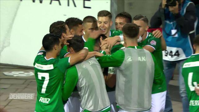 Super League, 13e journée: St-Gall – Sion (3-0) [RTS]
