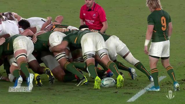 Rugby, Coupe du monde: l'Afrique du sud championne du monde pour la 3e fois [RTS]