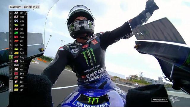 GP de Malaisie (#18), Moto GP: victoire de Vinales (ESP) [RTS]
