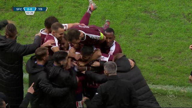 13e journée: Servette - Young Boys (3-0): Servette met fin à l'invincibilité de Young Boys! [RTS]