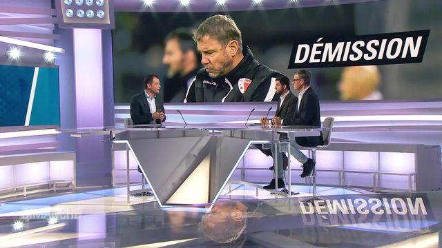 FC Sion: Stéphane Henchoz présente sa démission [RTS]
