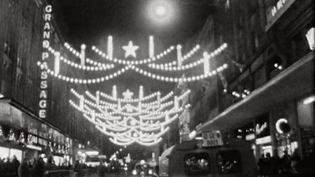 La frénésie de Noël en 1961. [RTS]