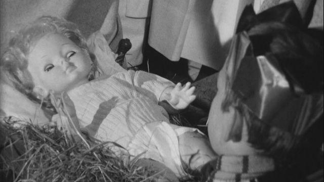 Crèche vivante en 1968. [RTS]