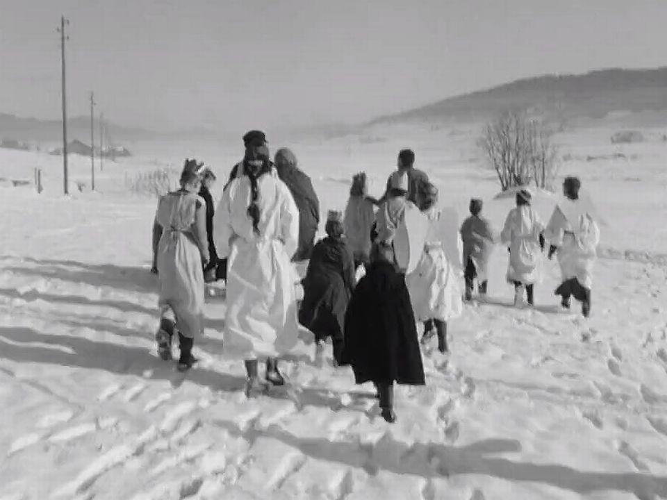 Noël aux Bayards en 1963. [RTS]