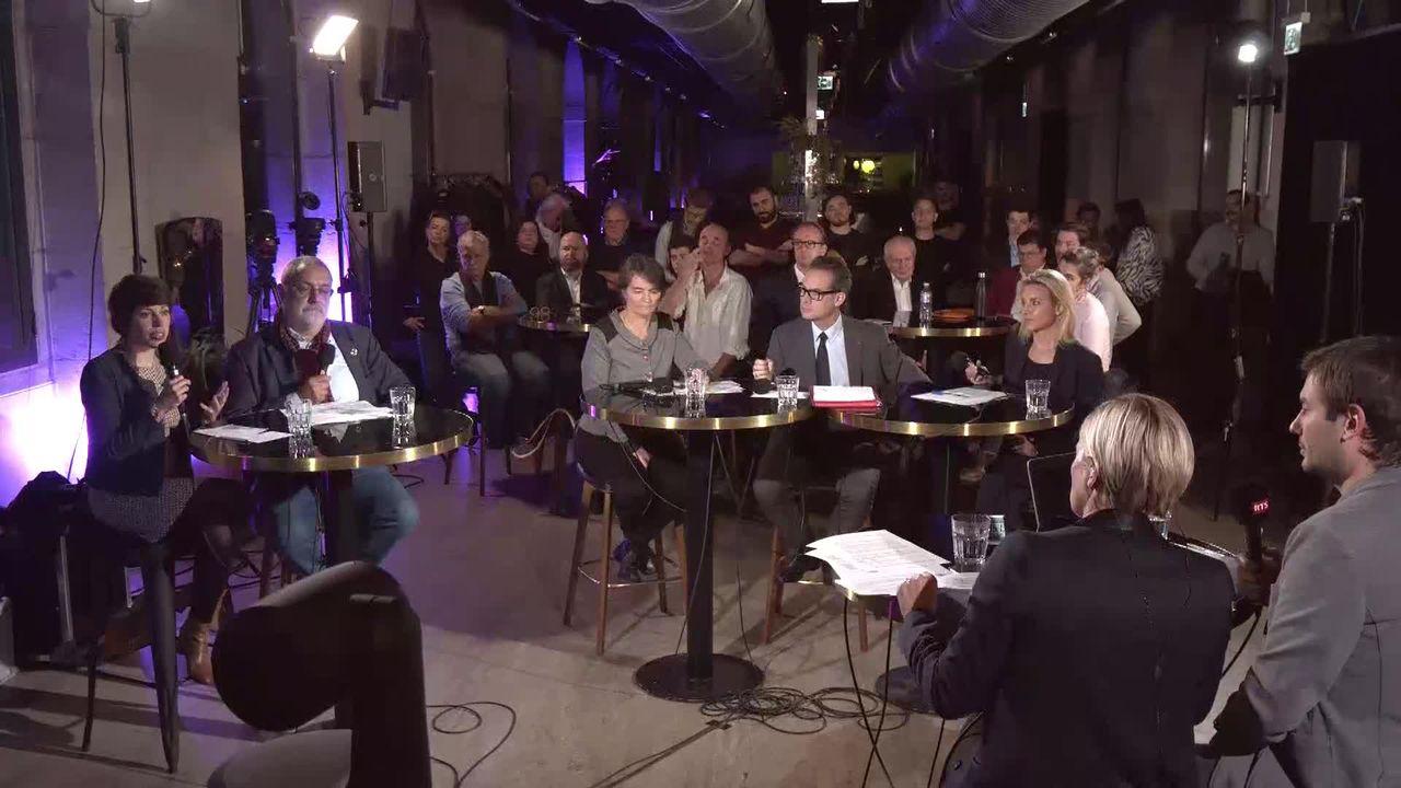 Le débat - Second tour pour l'élection genevoise au Conseil des Etats [RTS]