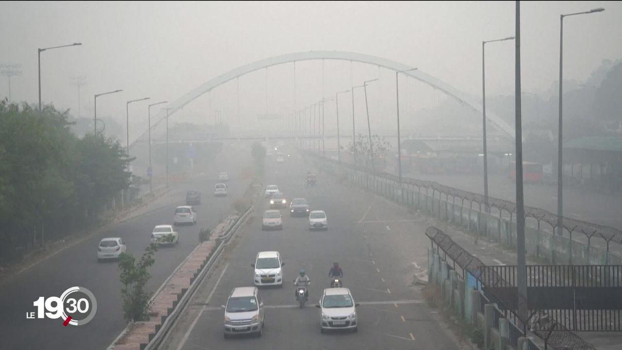 New Delhi: la capitale indienne connait l'un des plus violents épisodes de pollution atmosphérique [RTS]
