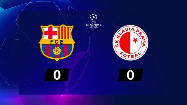 4e j. Gr.F, Barcelone - Sl.Prague (0-0): résumé de la rencontre
