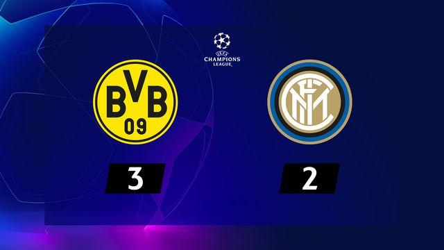 4e j. Gr.F, B. Dortmund - Inter (3-2): résumé de la rencontre