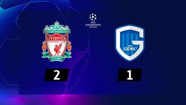 4e j. Gr.E, Liverpool - KRC Genk (2-1): résumé de la rencontre