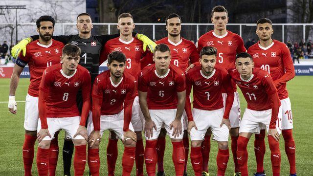 Qualification Euro U21 2021 Suisse - Géorgie [Alexandra Wey - Keystone]
