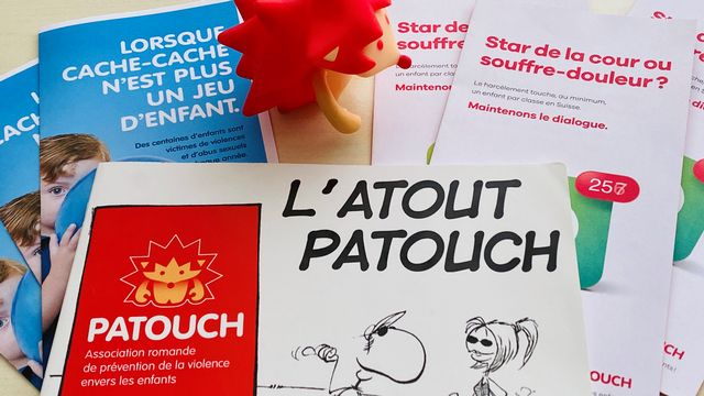 Patouch, l'association romande de prévention de la violence envers les enfants.