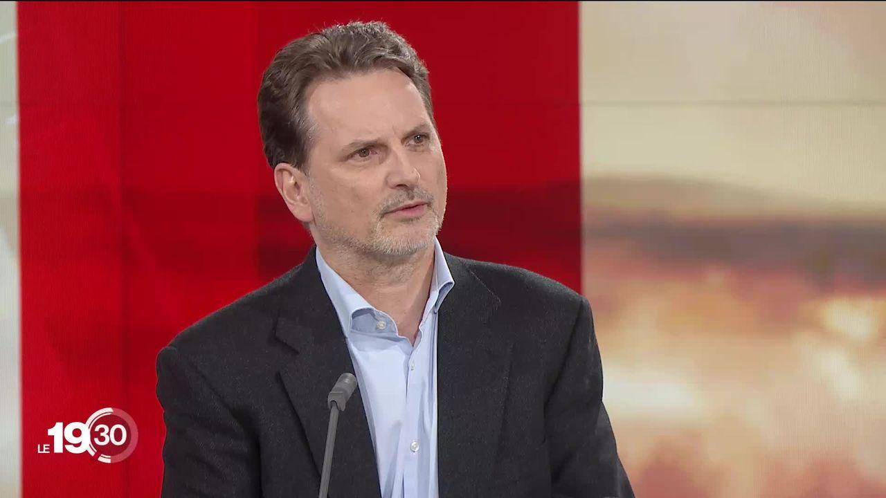 """Pierre Krähenbühl : """"Il n'y a aucun cas de corruption, ni de fraude, ni de mauvaise gestion des fonds."""" [RTS]"""