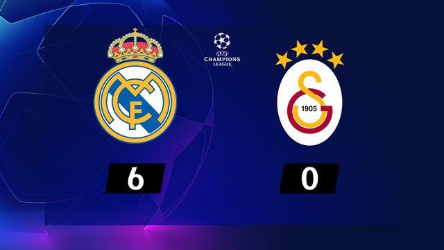 4ème journée, Real Madrid - Galatasaray (6-0): résumé de la rencontre
