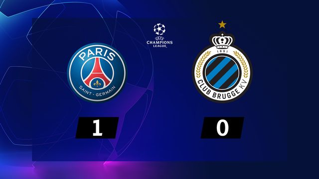 4ème journée, PSG - Bruges (1-0): résumé de la rencontre