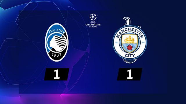 4ème journée, Atalanta - Manchester City (1-1): résumé de la rencontre