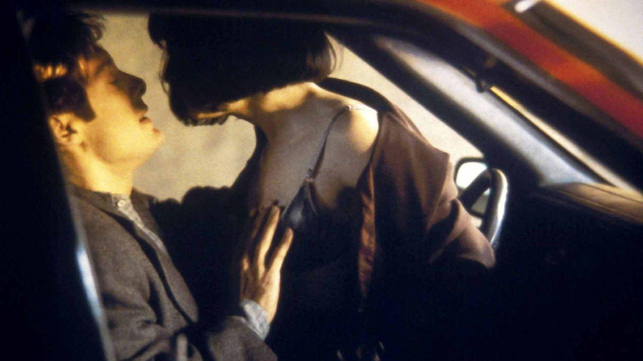 """Une scène du film """"Crash"""" de David Cronenberg. [Alliance Communications Corporat - AFP]"""