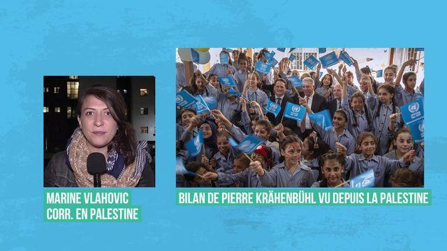 Réactions contrastées après la démission de Pierre Krähenbühl à la tête de l'UNRWA [RTS]
