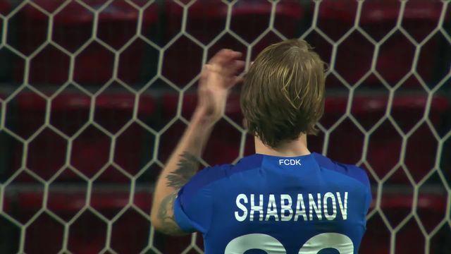 4ème journée: Copenhague – Dynamo Kiev (1-1) [RTS]