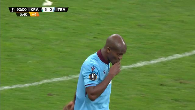 4ème journée: Kranodar  – Trabzonspor (3-1) [RTS]