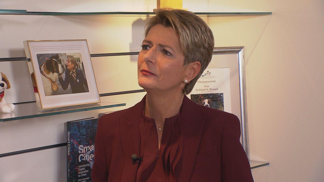 Karin Keller-Sutter. [RTS]
