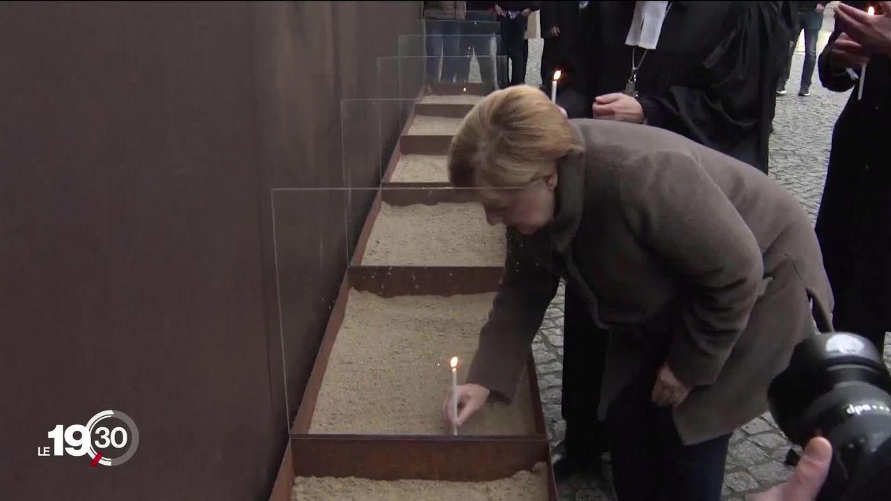 Chute du mur: L'Allemagne célèbre les trente ans de la réunification [RTS]