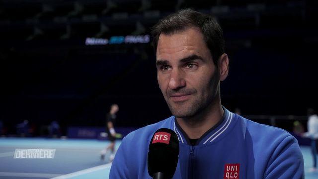 Masters: Federer a envie de terminer sa saison sur une note positive [RTS]