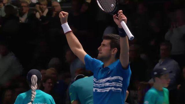 Round Robin: N.Djokovic (SRB) - M.Berrettini (ITA) (6-2, 6-1): Djokovic gagne facilement [RTS]