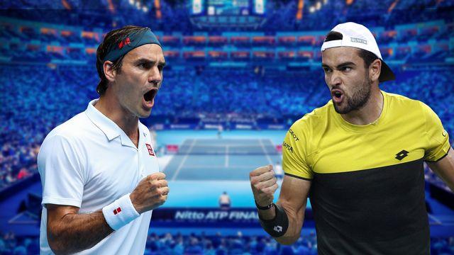 ATP World Tour Finals 2019: Federer - Berrettini [Keystone]