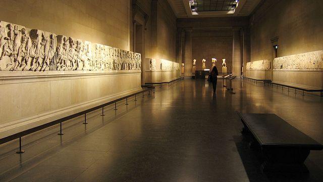 La frise du Parthénon, au British Museum. [CC BY-SA 2.0]