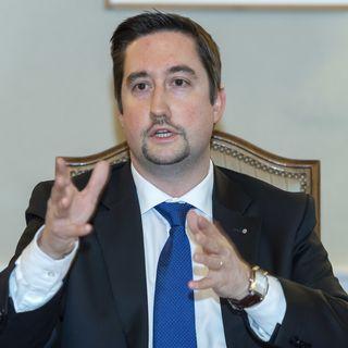 Yvan Zweifel, PLR group leader at the Grand Conseil genevois [Martial Trezzini - Keystone]