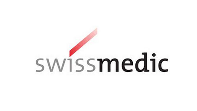 Le logo de Swissmedic, l'Institut suisse des produits thérapeutiques. [swissmedic.ch - DR]