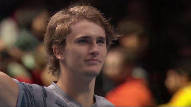 Round Robin: R.Nadal (ESP) - A.Zverev (GER) (2-6, 4-6): Nadal impuissant face à Zverev [RTS]