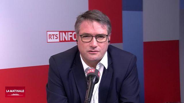 Alter Eco (vidéo) - Le combat de Christian Levrat pour que la finance serve l'économie suisse [RTS]
