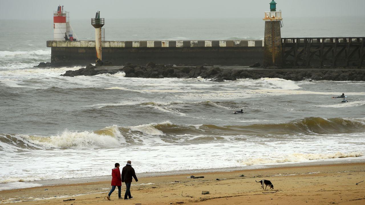 De mystérieux paquets de drogue arrivent sur le littoral atlantique. [Gaizka Iroz - AFP]