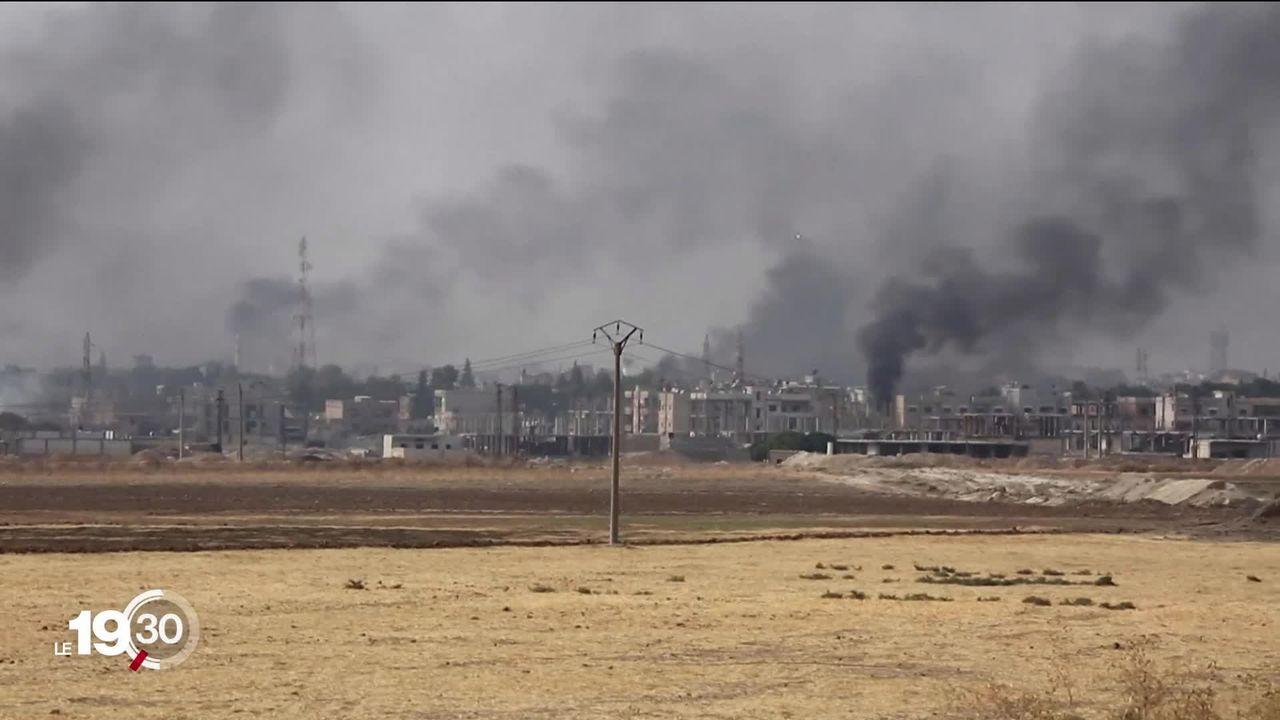 Malgré le cessez-le-feu, les combats continuent à la frontière turco-syrienne, avec des soupçons de crimes de guerre [RTS]