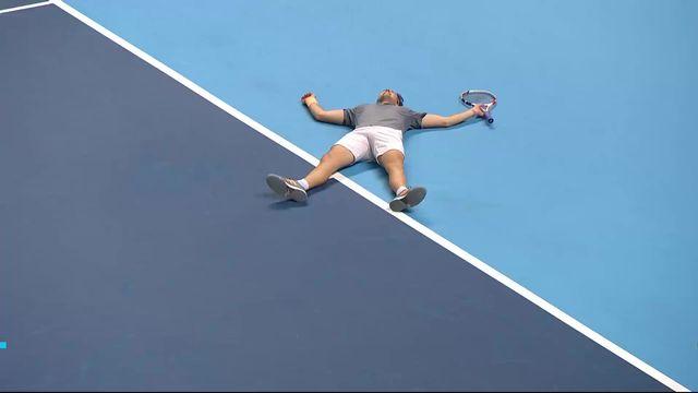 Round Robin: N.Djokovic (SRB) - D.Thiem (AUT): (7-6, 3-6, 6-7): Un extraordinaire Thiem vient à bout de Djokovic [RTS]