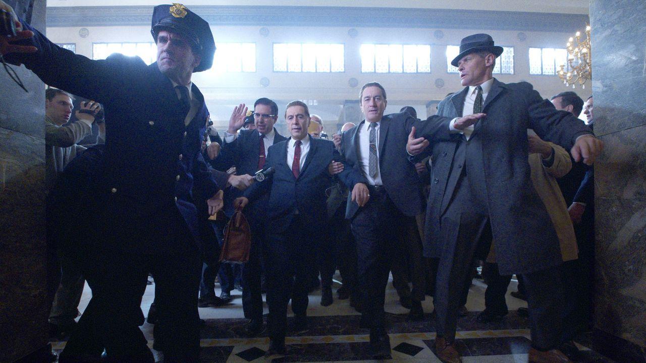 """Une scène du film """"The Irishman"""" de Martin Scorsese. [Netflix]"""