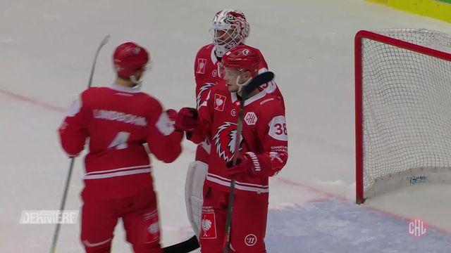 Hockey Ligue des champions, 1-8-Finals: Plzen (CZE) - Lausanne (SUI) (1-2) [RTS]
