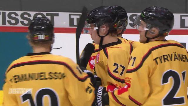 Hockey Ligue des champions, 1-8-Finals: BERNE (SUI) - LULEA (SWE) (0-3) [RTS]