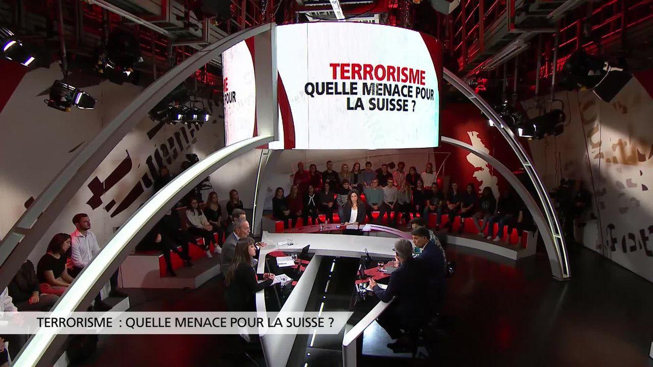 Terrorisme: quelle menace pour la Suisse? [RTS]