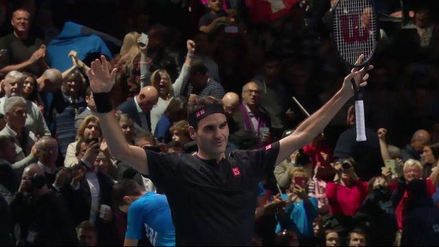 Round Robin: N.Djokovic (SRB) - R.Federer (SUI) (4-6, 3-6): Federer en démonstration face à Djokovic! [RTS]