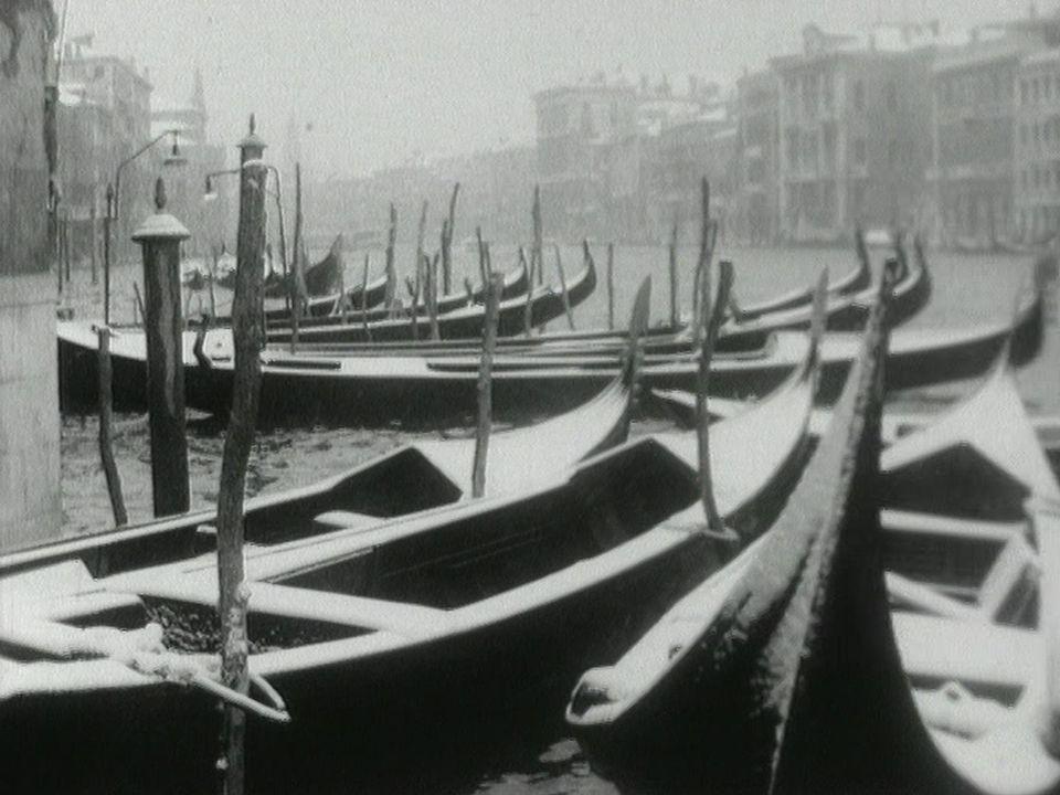 Venise sans gondolier, promenade mélancolique en 1963. [RTS]