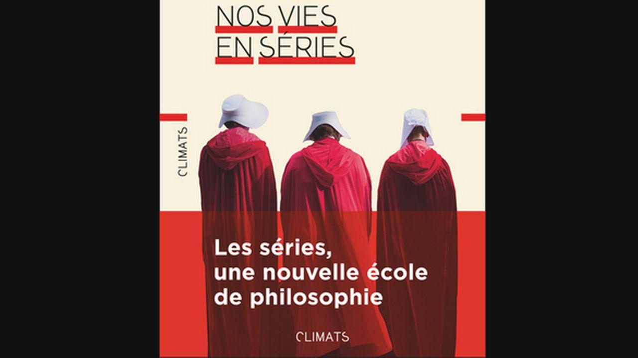 """""""Nos vies en séries"""", un livre sur les séries écrit par Sandra Laugier. Editions Flammarion [Editions Flammarion]"""