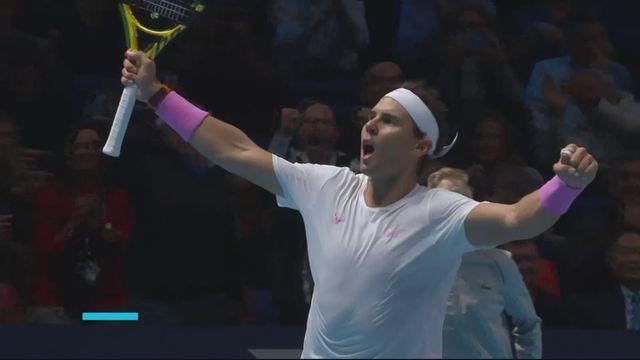 Round Robin: R.Nadal (ESP) - S.Tsitsipas (GRE) (6-7, 6-4, 7-5): Nadal s'impose en trois sets [RTS]