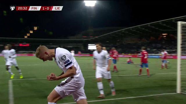 Gr.J, Finlande - Liechtenstein (3-0): le résumé du match [RTS]