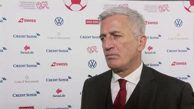 Gr.D, Suisse - Géorgie (1-0): Petkovic s'exprime sur le match [RTS]