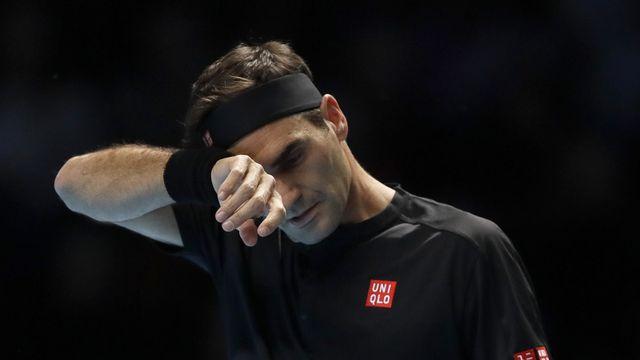 Federer a laissé passer plusieurs opportunités. [Kirsty Wigglesworth - Keystone]